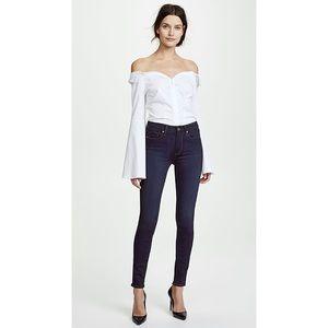 PAIGE   Hoxton Ultra Skinny Jeans Dark Wash Yogi Size 26